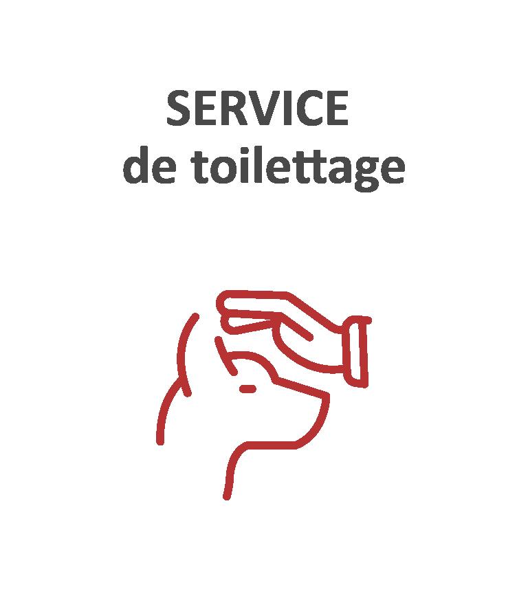 Service de toilettage